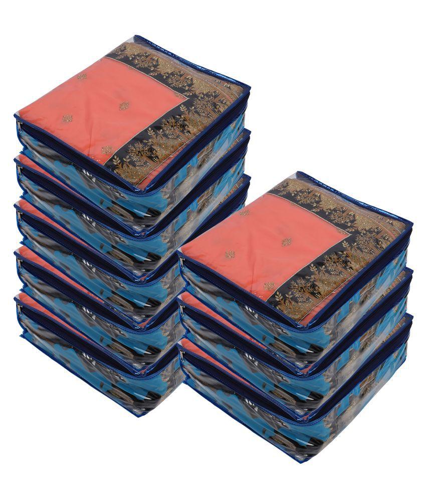 Aashi Blue Saree Covers - 8 Pcs