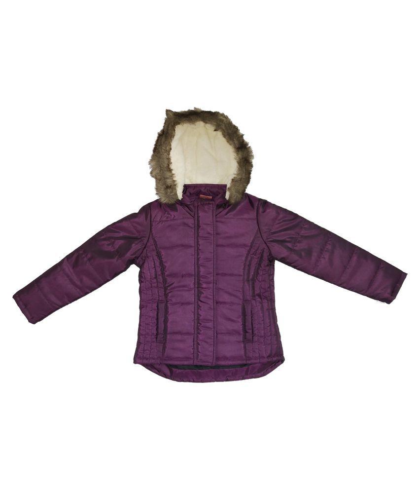 Kids-17 Girls Full Sleeves Jacket
