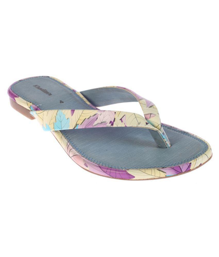 Khadim's Blue Slippers