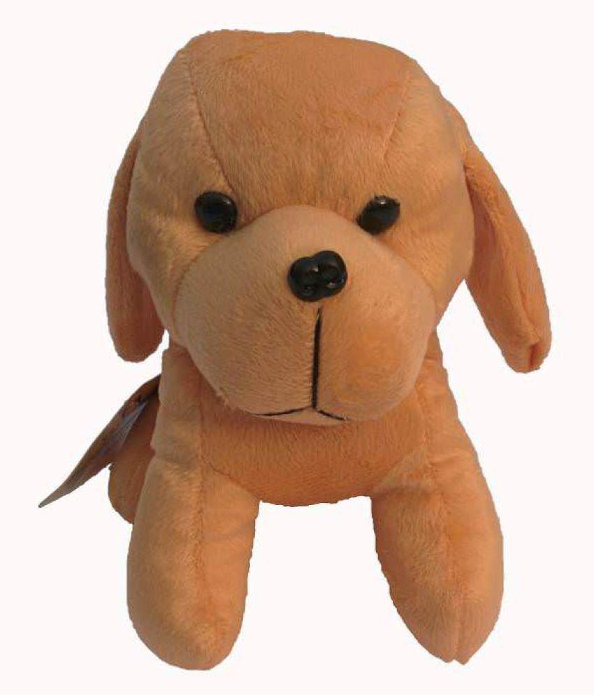 Galaxy World Puppy Dog   17 cm Brown  Toy For Kids