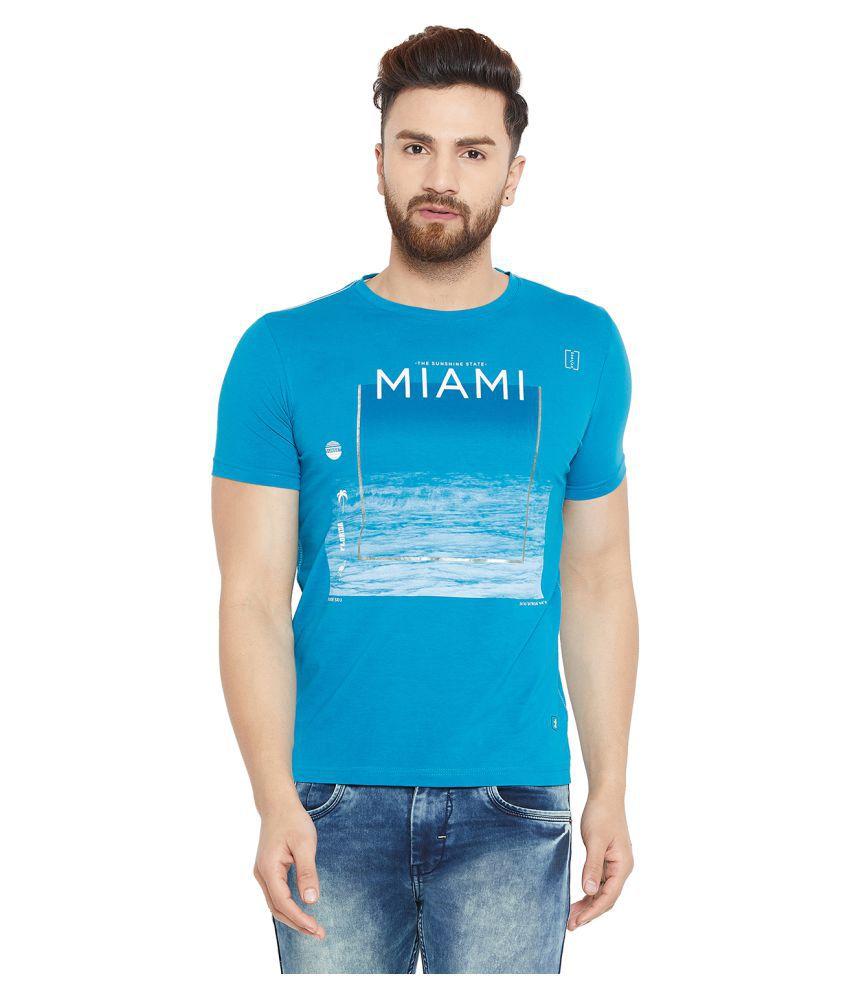 Duke Blue Half Sleeve T-Shirt Pack of 1