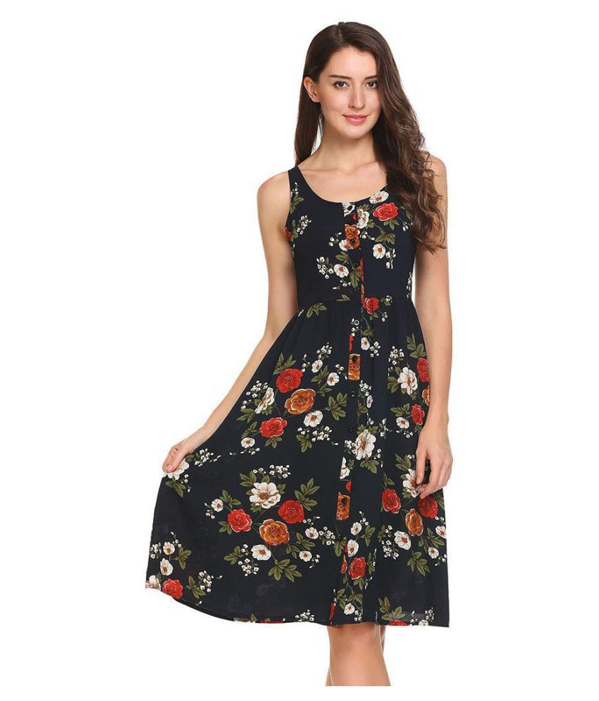 69849cf0bfb7 Sleeveless dress - Buy Sleeveless dress Online at Best Prices in India on  Snapdeal