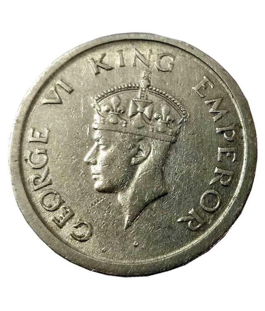 an one rupee coin