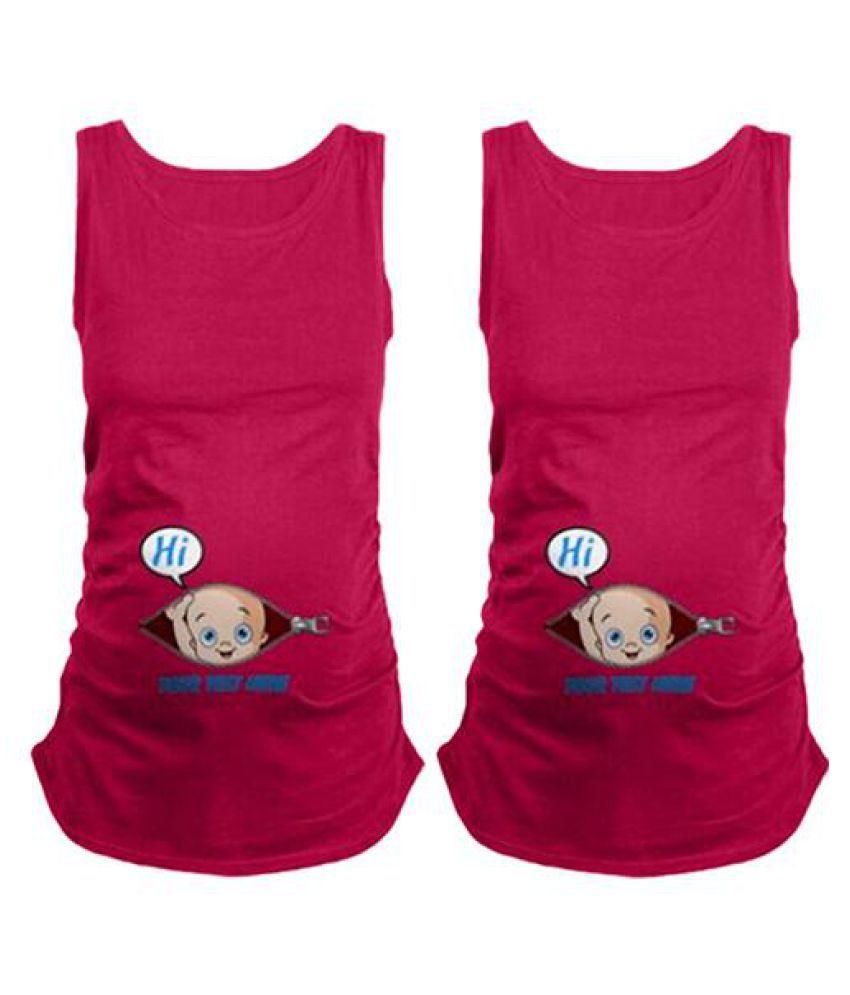 6777b5832a1 ... Women's Summer Plus Size Pregnant Clothes Nursing Tank Top Maternity  Wear Vest