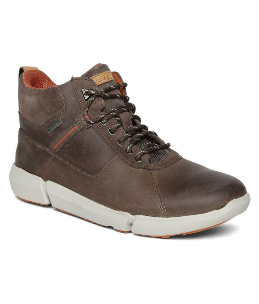 Clarks Brown Casual Boot