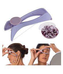 Mahadev Slique Face Eyebrow Kit Plastic Angled Tweezer