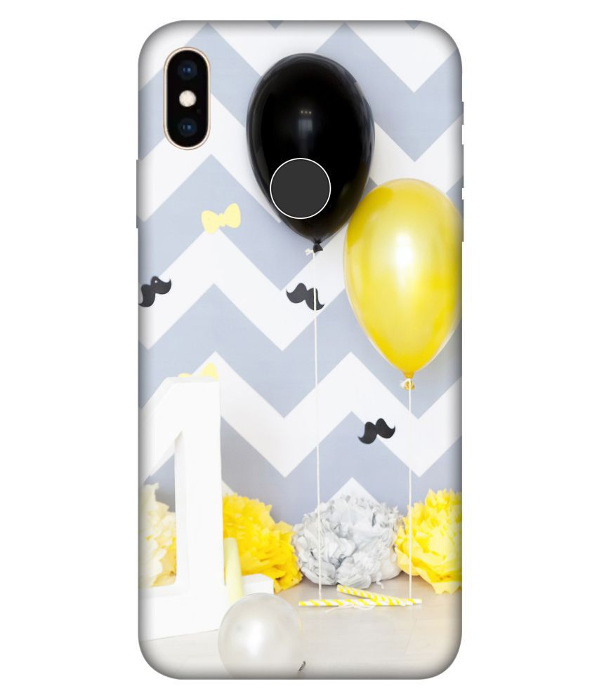 Apple iPhone XS Max Printed Cover By Crockroz Patterns