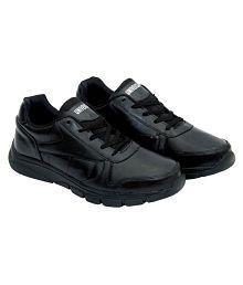 Kwickk Black Running Shoes