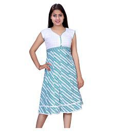 d4fa560d4b6057 Best Selling SMART SHOP Women s Clothing. SMART SHOP Cotton Green Fit And  Flare Dress