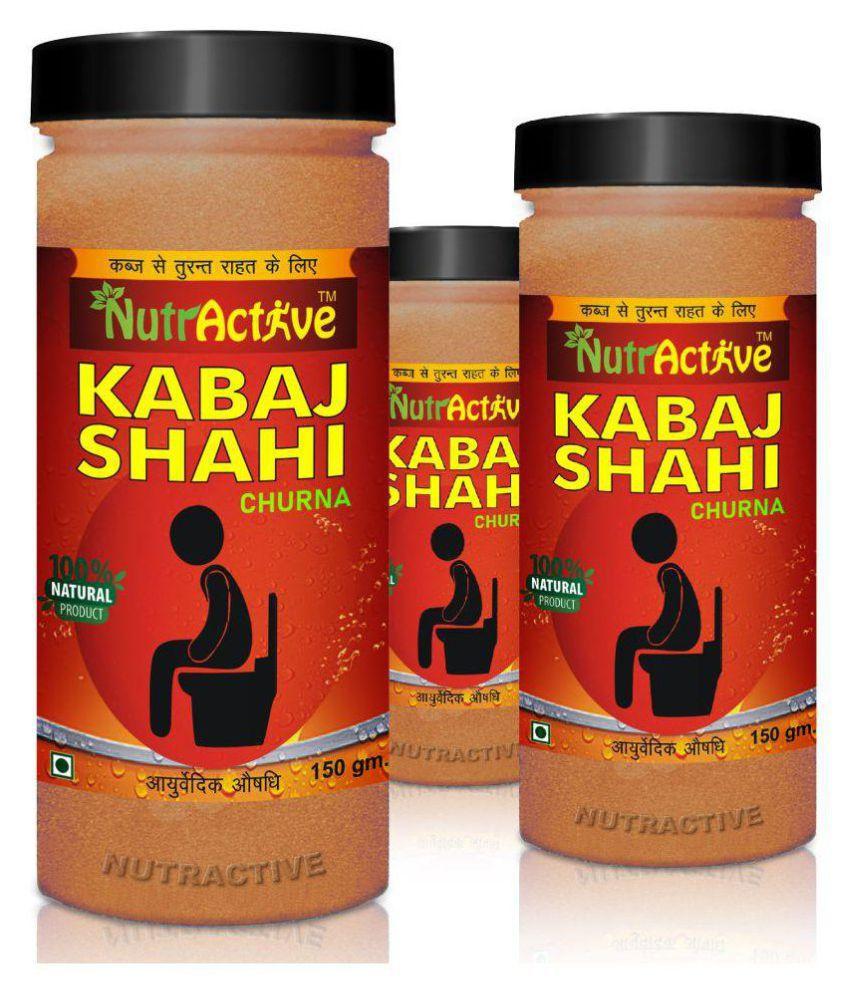 NutrActive Kabaj Shahi Churna | Relief Powder 450 gm