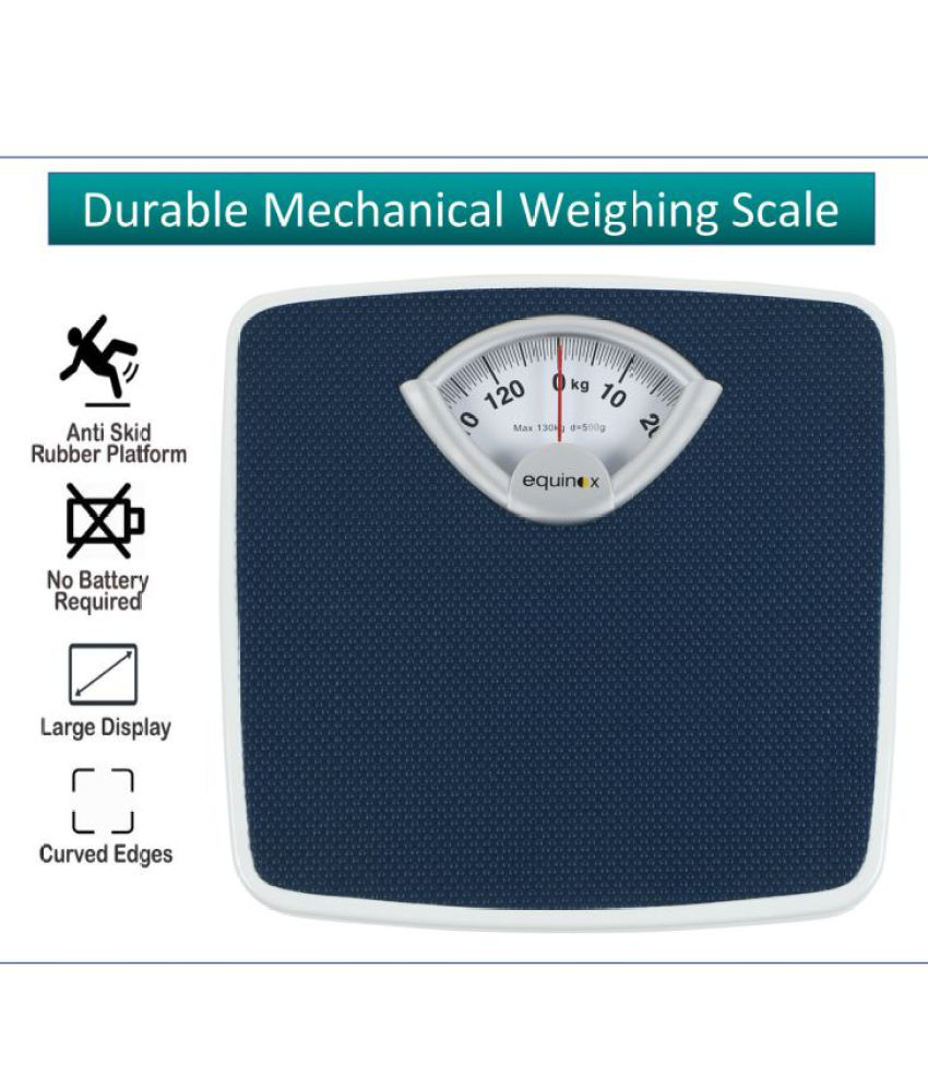 equinox personal weighing scale mechanical eq br 9201 buy equinox rh snapdeal com