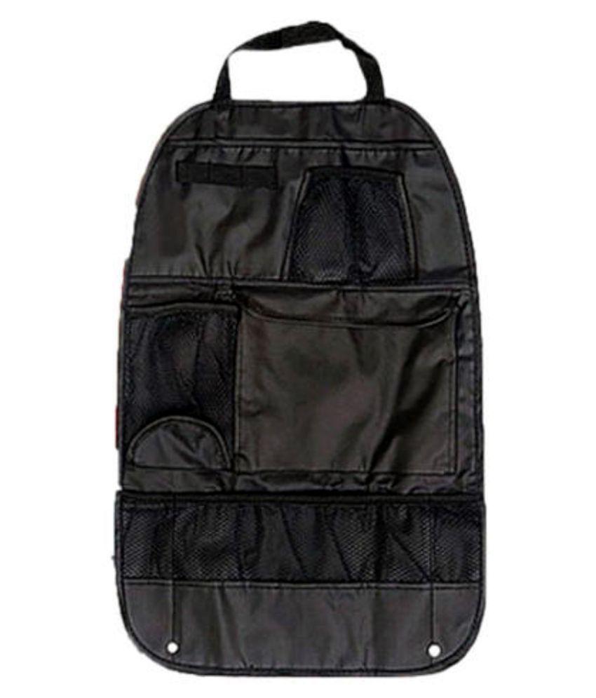 EZ Life Multi Pocket Organizer for Front Seat Side Black