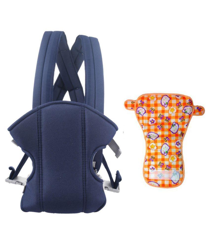 Welo Blue Cotton Baby Wrap cum blanket ( 200 cm × 130 cm - 1 pcs)