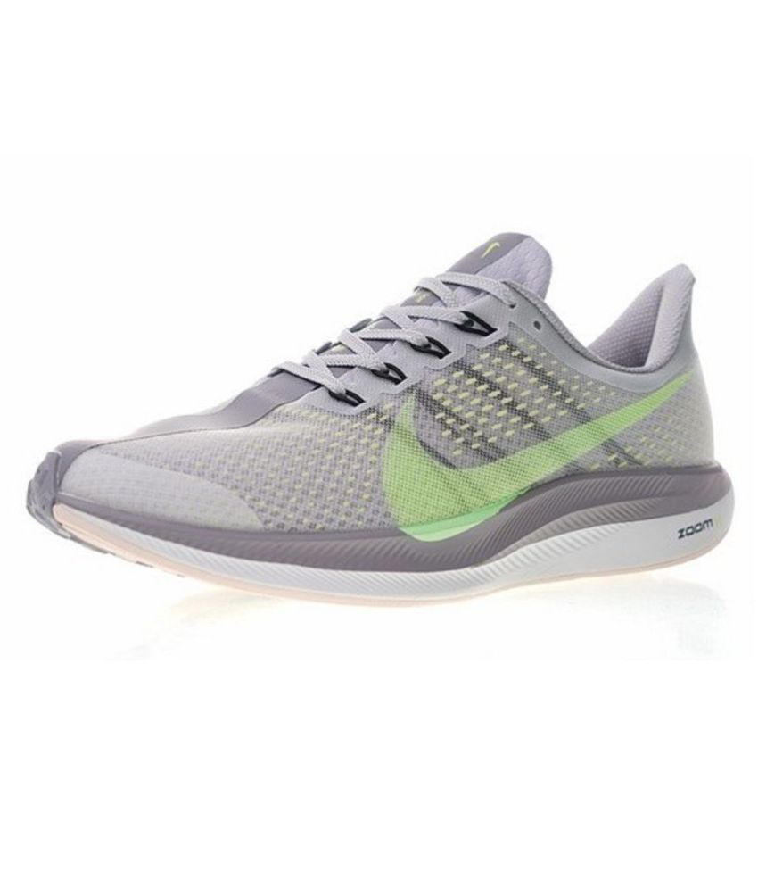 580f95f6804 ... Nike Air Zoom Pegasus 35 Turbo 2 2019 Running Shoes Gray For Gym Wear  ...