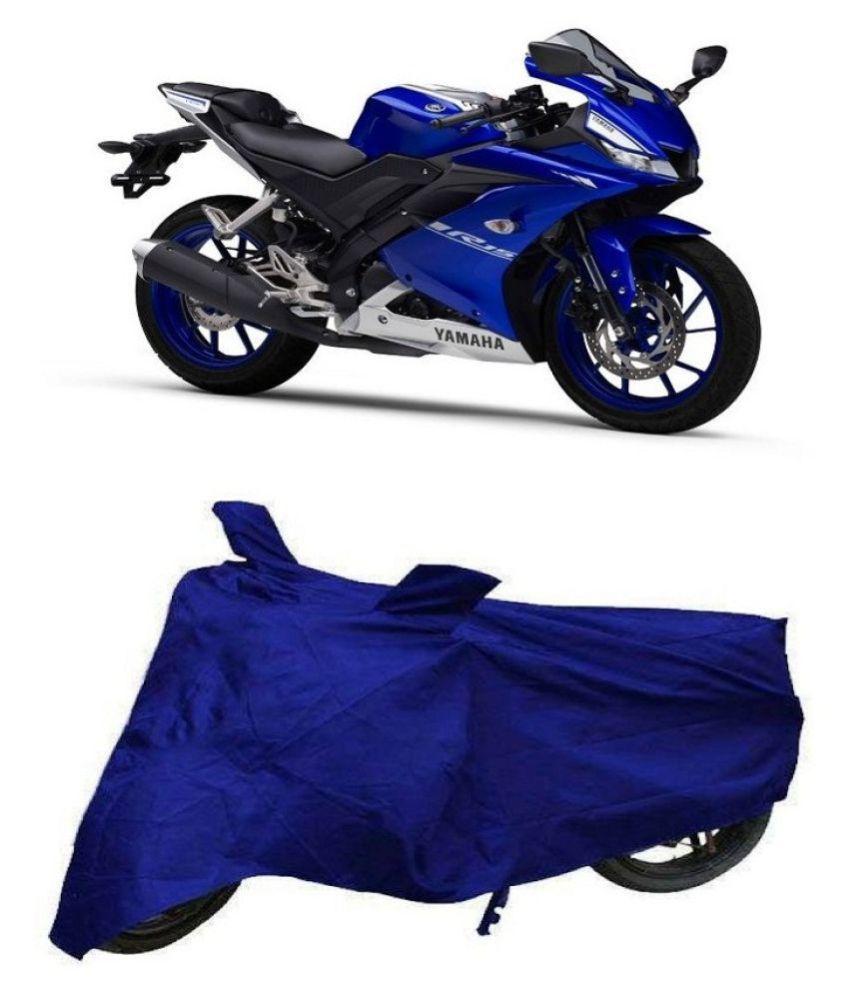 Bigwheels Blue Matty Bike Body Cover for Yamaha R15 V3 0