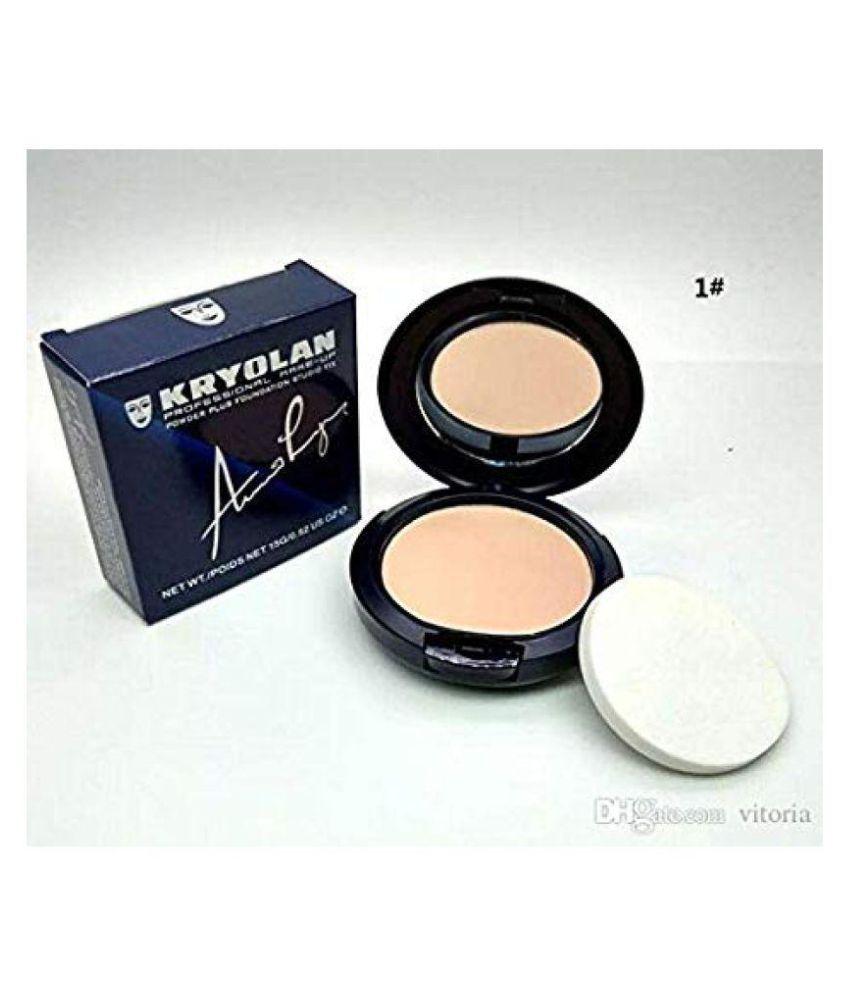 Kryolan Pressed Powder 2 In 1 Studio Fix Powder 10 gm
