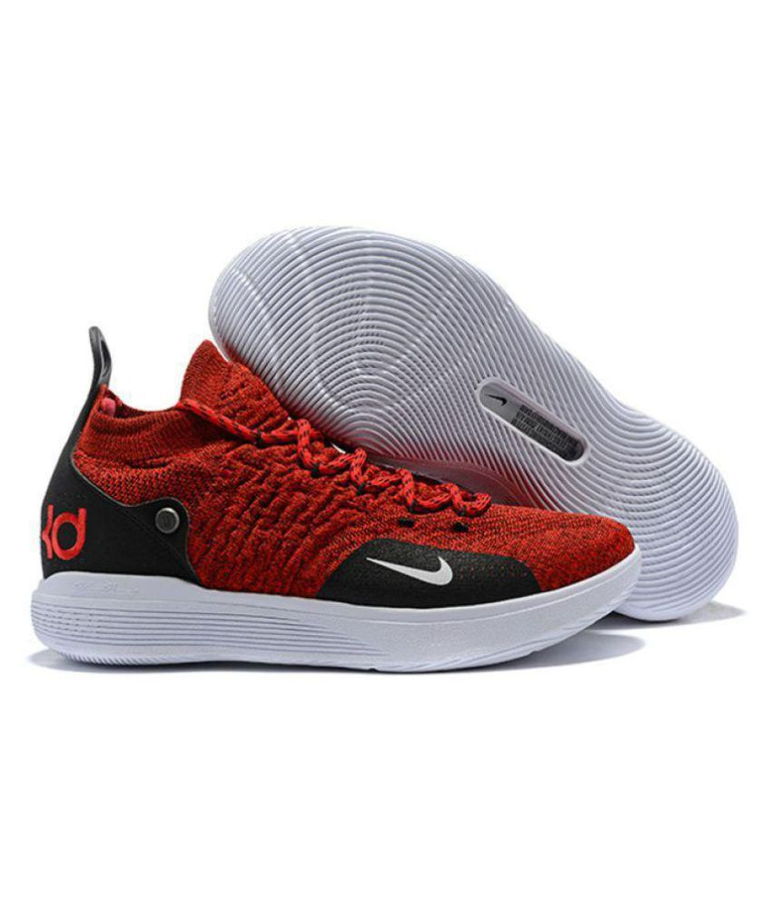 designer fashion 19dee f4343 Nike KD 11 University Red Basketball Shoes - Buy Nike KD 11 University Red  Basketball Shoes Online at Best Prices in India on Snapdeal