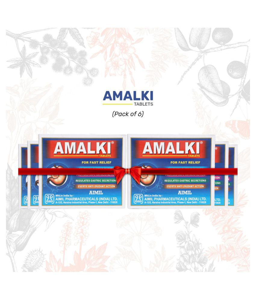 Aimil Amalki For Hyper Acidity Tablet 30 gm Pack Of 6