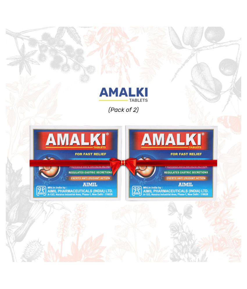 Aimil Amalki For Hyper Acidity Tablet 30 gm Pack Of 2
