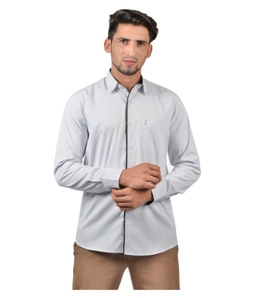 8a61e28403d S9 Men Polyester Shirt - Buy S9 Men Polyester Shirt Online at Best Prices  in India on Snapdeal