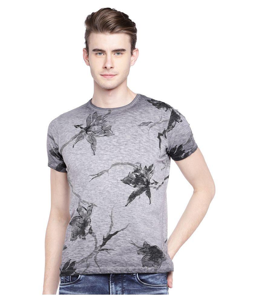 Killer Grey Half Sleeve T-Shirt