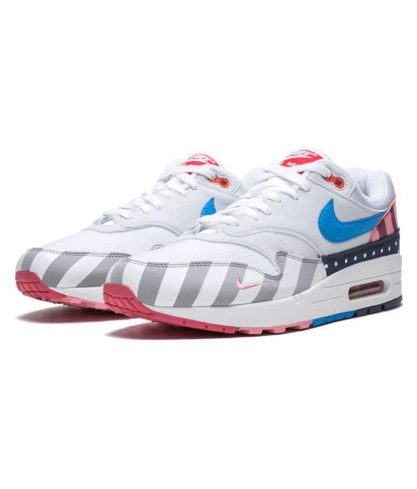 big sale 37e34 27cf3 Nike Parra x Air Max 1 Multi Color Basketball Shoes