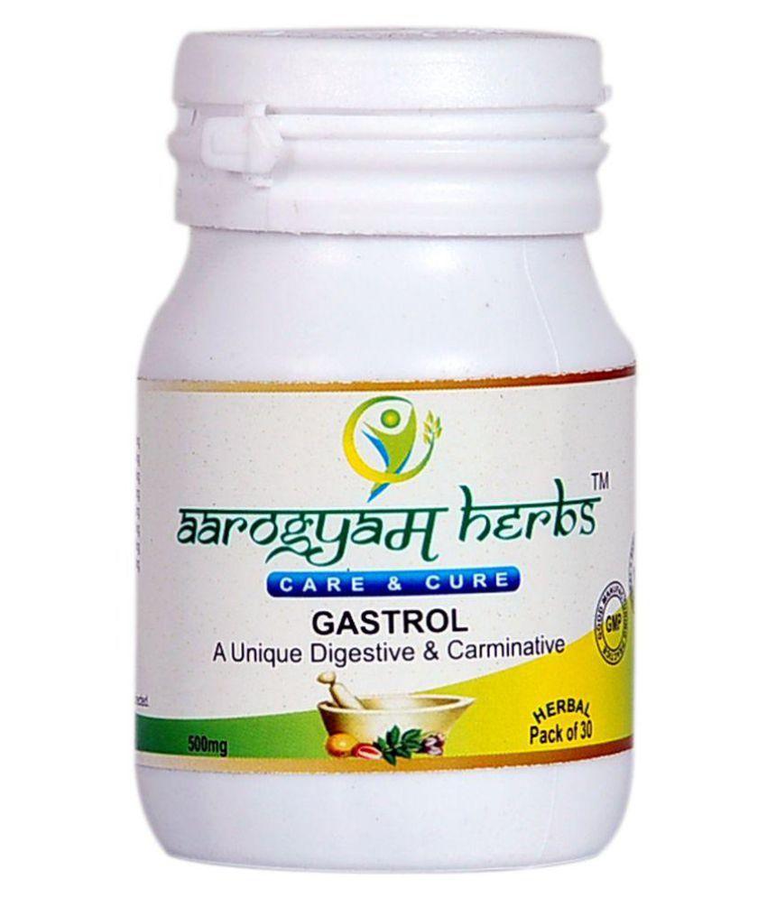 Aarogyam Herbs Gastro Capsule 30 no.s Pack Of 2