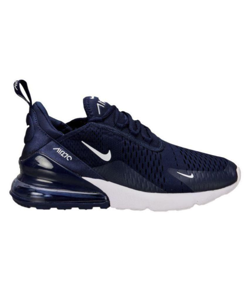 Nike air max 27 c Running Shoes Blue  Buy Online at Best Price on Snapdeal 5df38e8f5