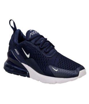 Nike air max 27 c Running Shoes Blue