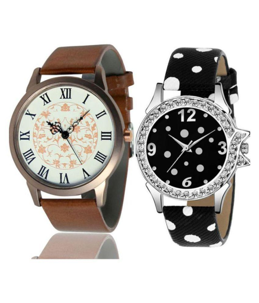 Devani Watch collection with beautiful attractive Analog Couple Watch For Boys & Girls
