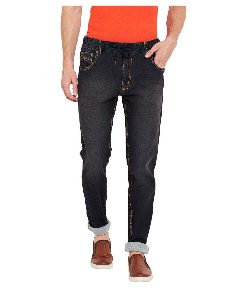 PERF Black Regular Fit Jeans