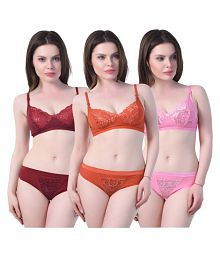 f7b44f2f12 Bra   Panty Sets  Buy Bra   Panty Sets Online at Best Prices in ...