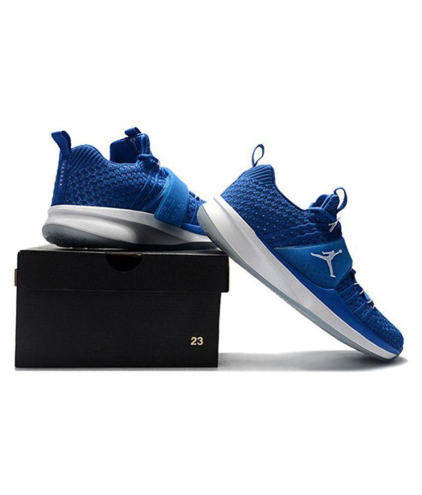 Nike Air Jordan Trainer 2 Flyknit Blue