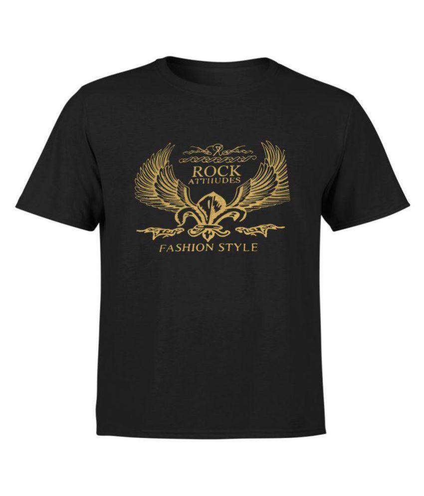 PARTUM CORDE Black Half Sleeve T-Shirt Pack of 1