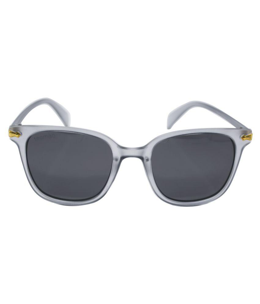TecMac Grey Wayfarer Sunglasses ( P0811 )