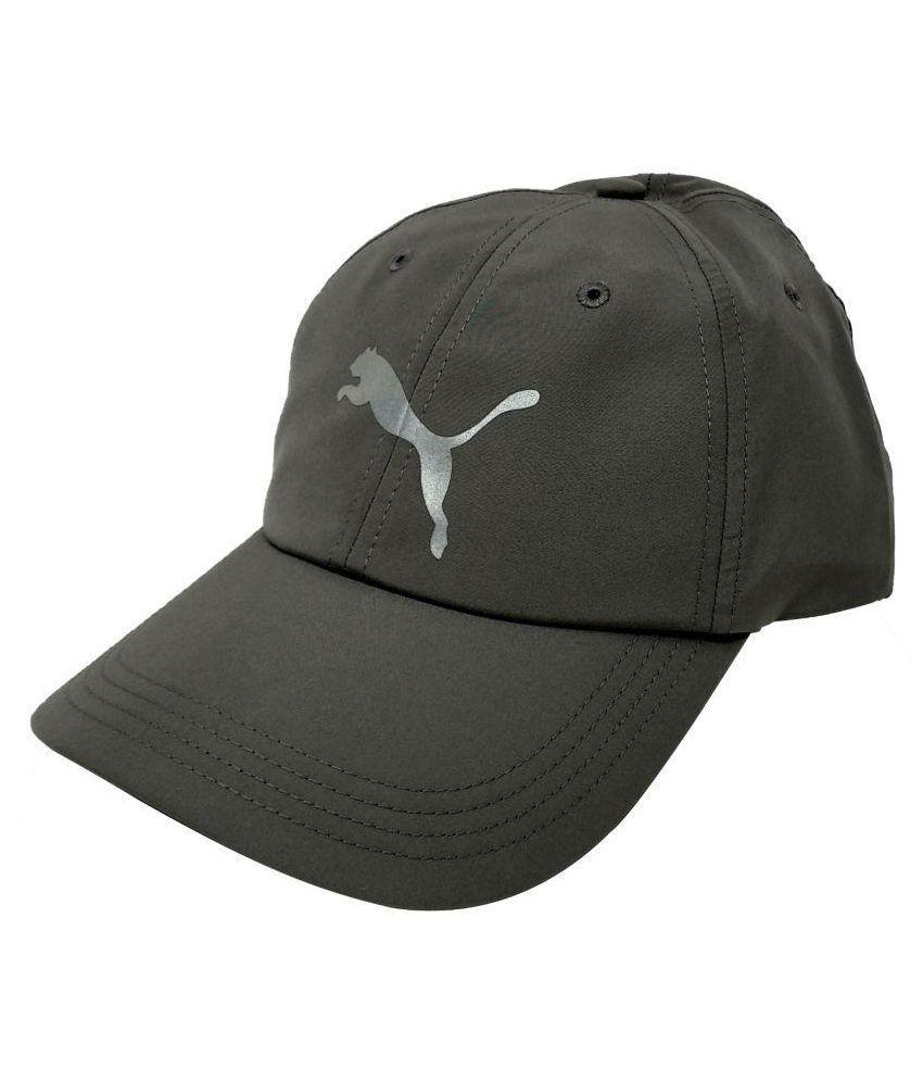 341554433b6 Puma Gray Animal Print Polyester Caps - Buy Online   Rs.