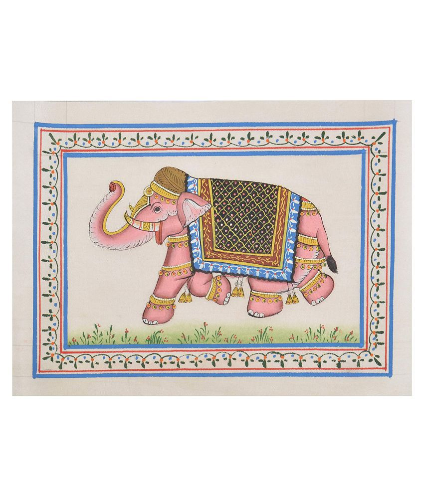Unique Indian Crafts Painting Canvas Painting Without Frame