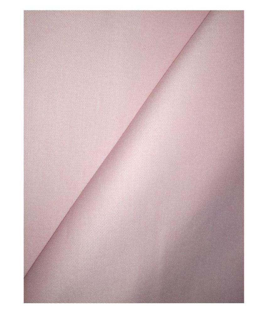 Raymond Pink Poly Blend Unstitched Shirt pc