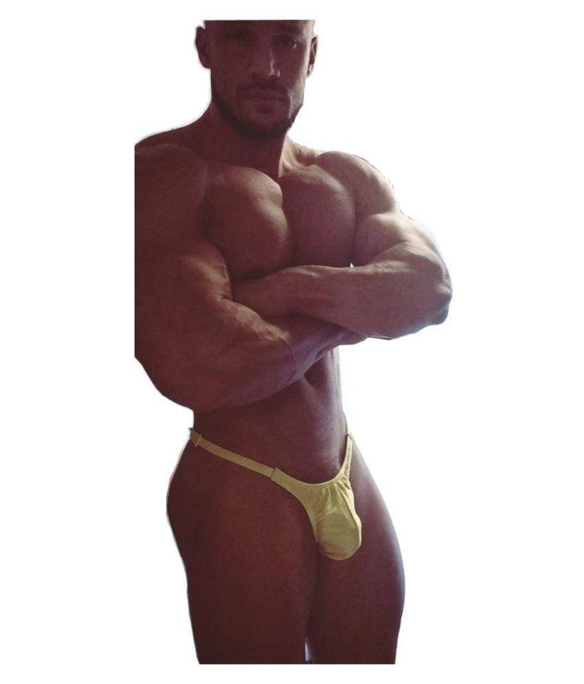 Male Power Yellow Bikini