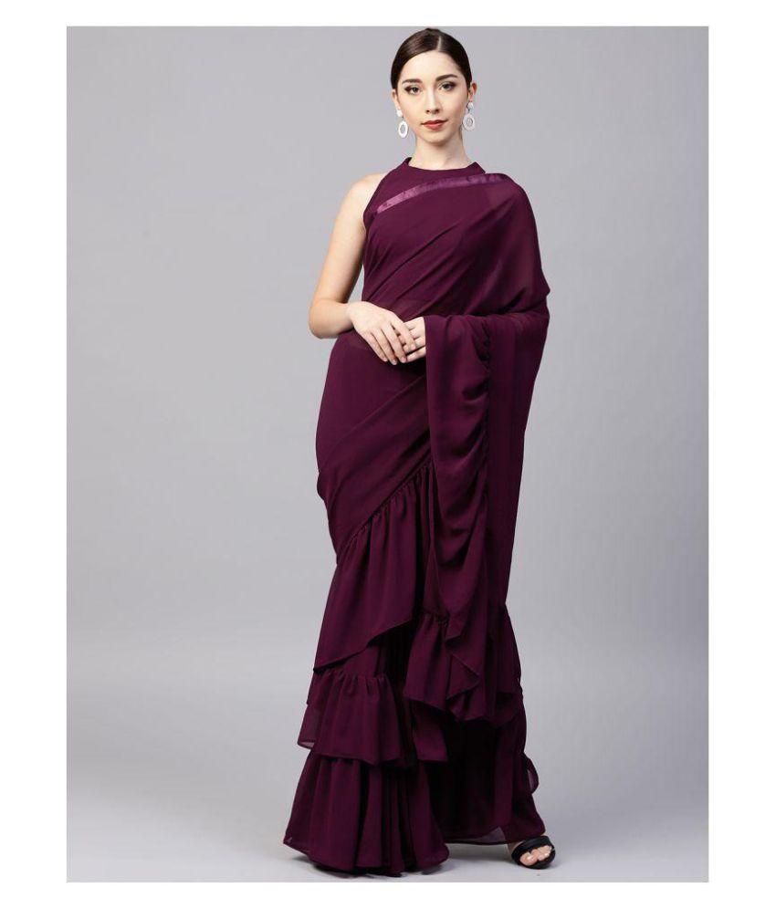 Lajree Designer Blue and Grey Silk Blends Saree