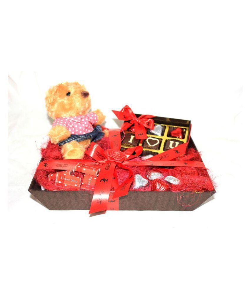 Zoroy Chocolate Box Valentine chocolate gift 200 gm