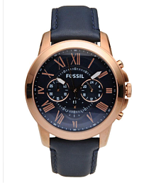 FOSSIL WATCH FS4835 Leather Chronograph Men's Watch