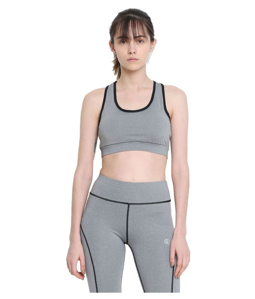 CHKOKKO Sports, Gym, Running Racer Back Non Wired Padded Sports Bra for Women