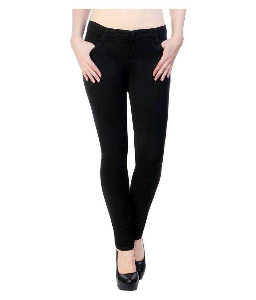 Amazing Denim Lycra Jeans - Black