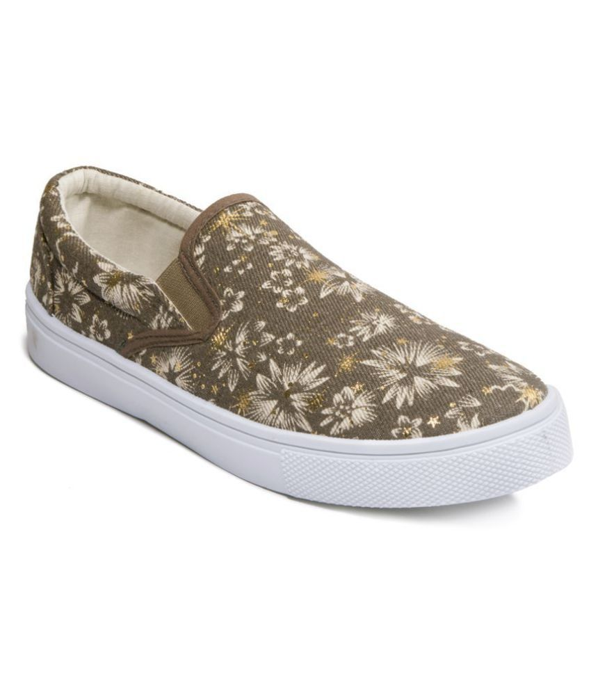 Khadim's Brown Casual Shoes