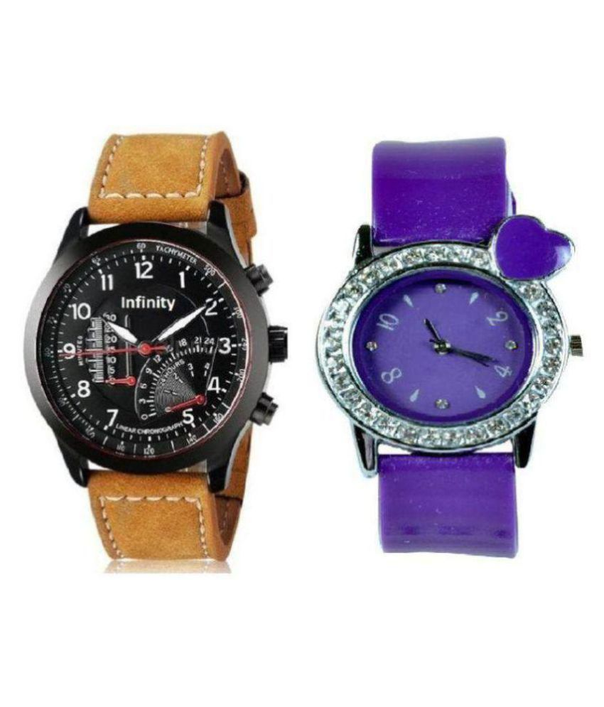 5844b447d7e5 ... Analog Watch - For Couple - Buy dkENTERPRISES Stylist Top Selling  Couple Combo Analog Watch - For Couple Online at Best Prices in India on  Snapdeal