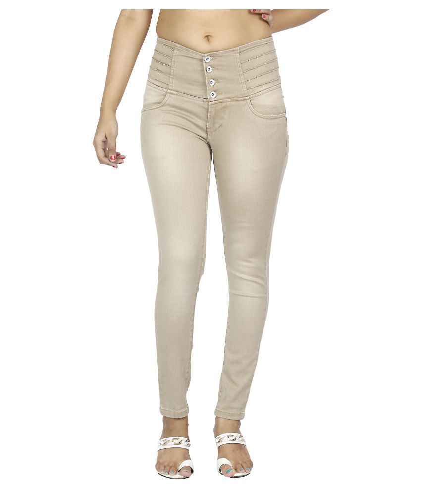 FCK-3 Denim Jeans - Brown