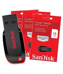 SOMOTO Sundisk pendrive 16GB USB 4.0 Utility Pendrive Pack of 2