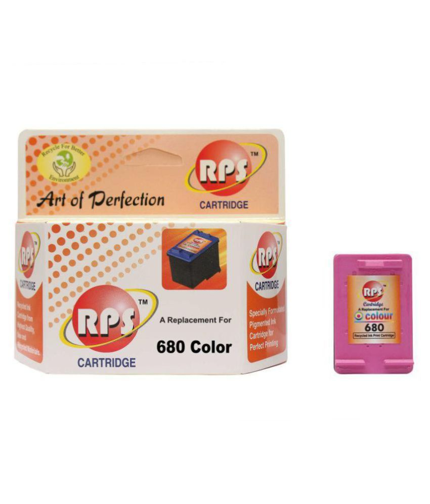 rps cartridge 680 Color Ink Cartridge Multicolor Single