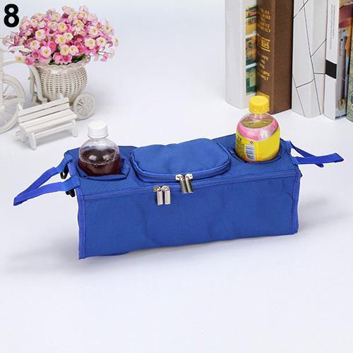 Baby Stroller Organizer Bottle Cup Holder Bag Stroller Accessories Baby Pram Bag